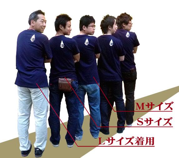 油Tシャツ サイズ